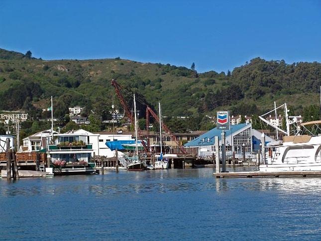 Fuel Dock at Clipper Yacht Harbor
