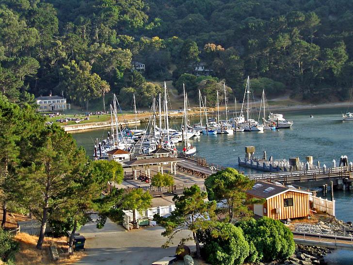 Full Docks in Ayala Cove
