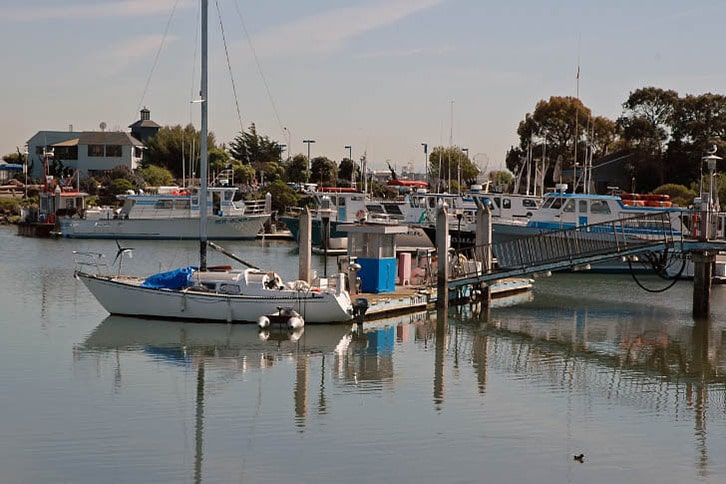 Gas Dock at Emeryville Marina
