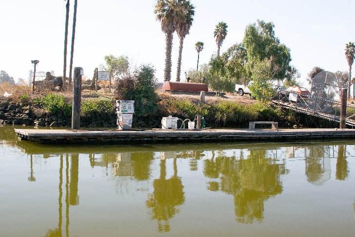 Gas Dock at Napa Valley Marina