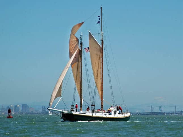 Gaslight Sailboat
