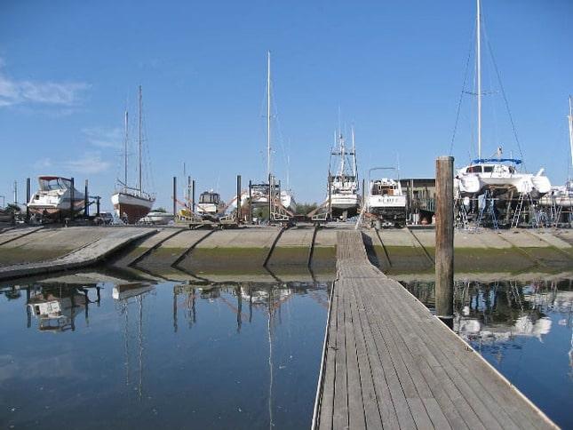 Guest Dock and Ways at Napa Valley Marina