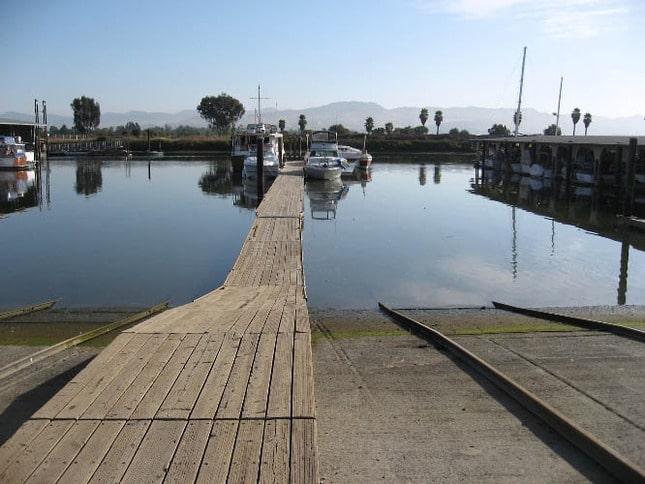 Guest Dock at Napa Valley Marina