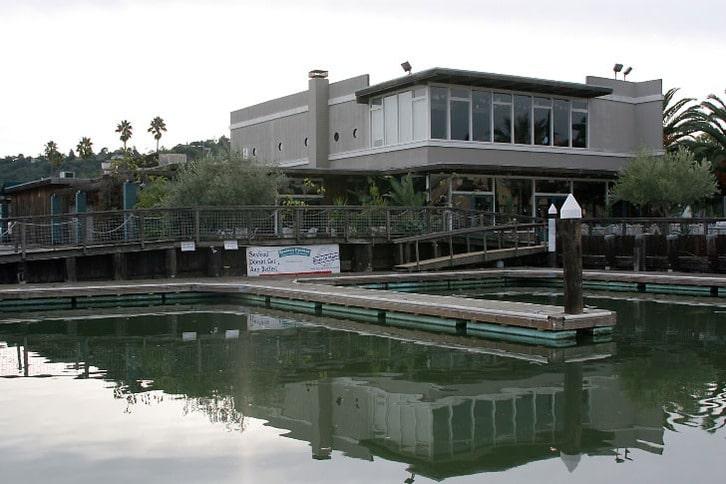 Guest Docks at the Seafood Peddler