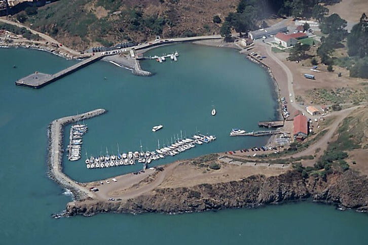 Horseshoe Cove Aerial
