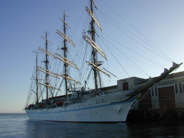 Huge Classic Sailing Ship
