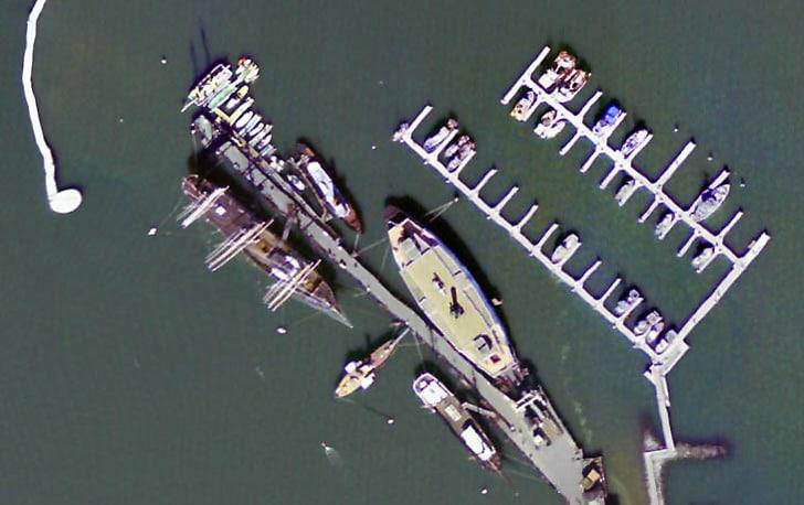 Hyde Street Pier Aerial