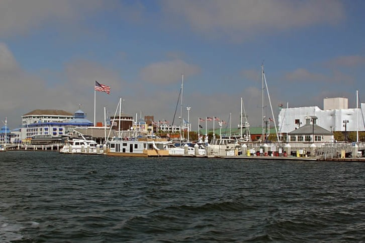 Jack London Square from the South-East