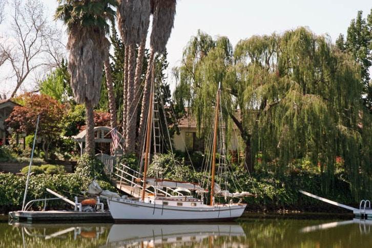 Ketch at Waterfront Home at River Park Estates