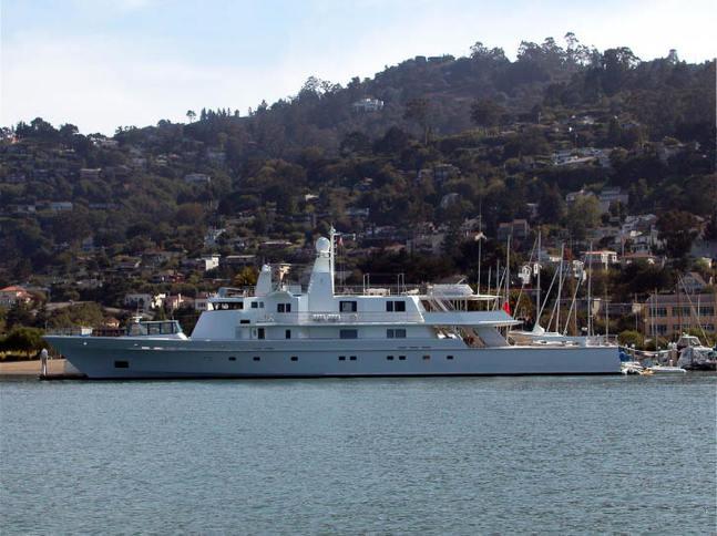 Larry Ellison's Ronin Yacht