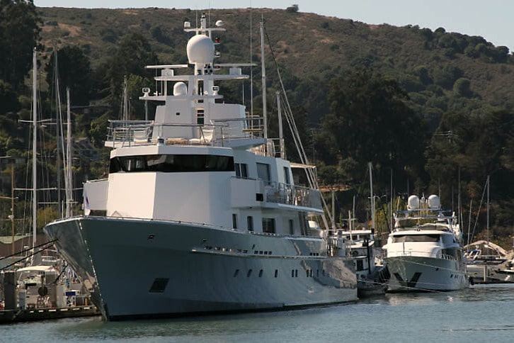 Larry Ellison's Ronin in Sausalito