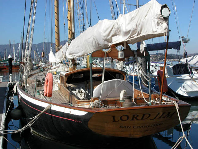 Lord Jim Sailboat