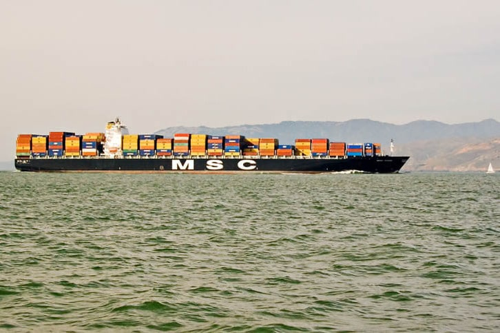 MSC Container Ship