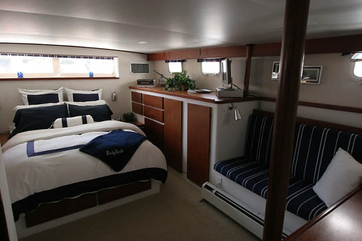 Main Cabin of a Stephens Motoryacht