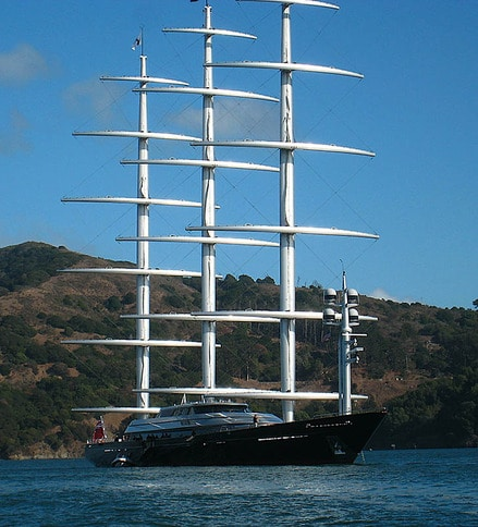 Maltese Falcon at Anchor