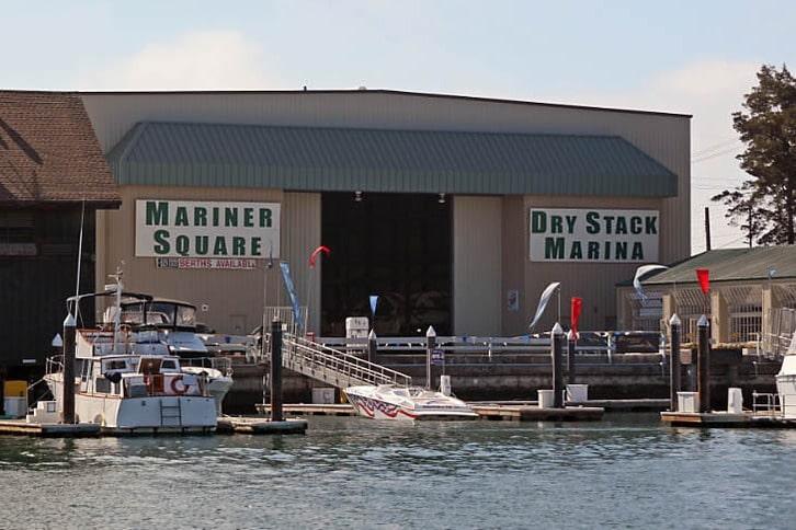 Mariner Square Dry Stack Marina