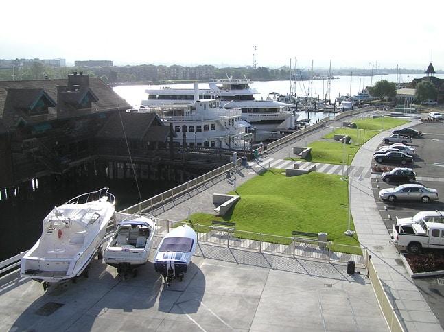 Mariner Square Marina at Alameda