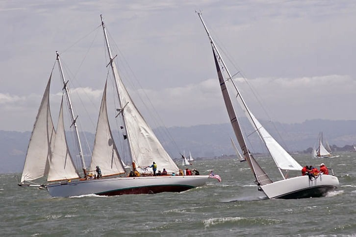 Master Mariner's Regatta Close Up Two Boats