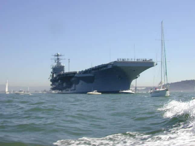 Military Aircraft Carrier Ship