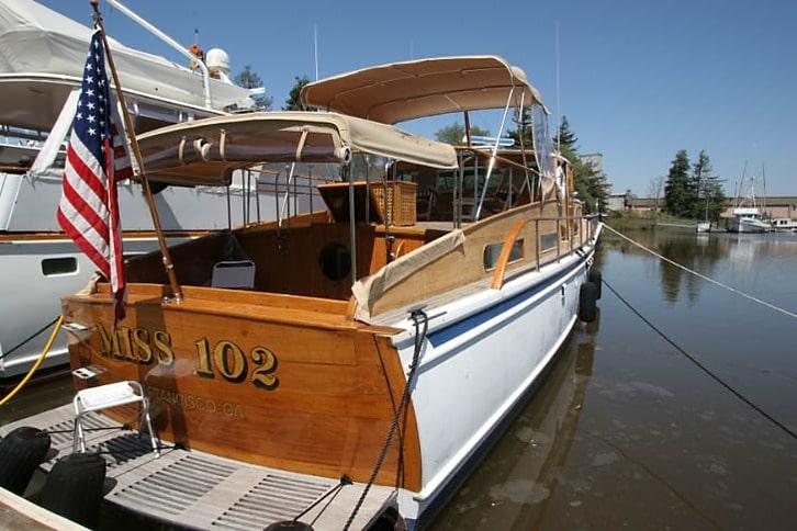 Miss 102 Classic Motoryacht