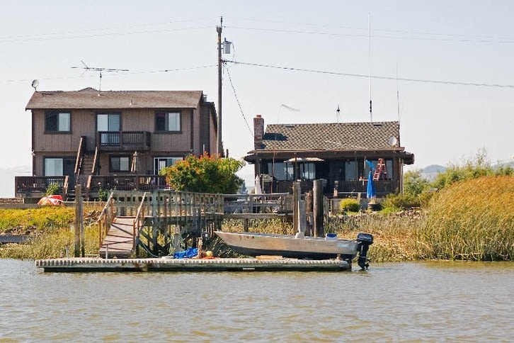 Napa River Waterfront Home