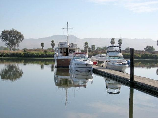 Napa Valley Marina Guest Dock
