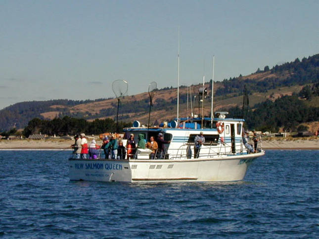 New Salmon Queen Fishing Boat