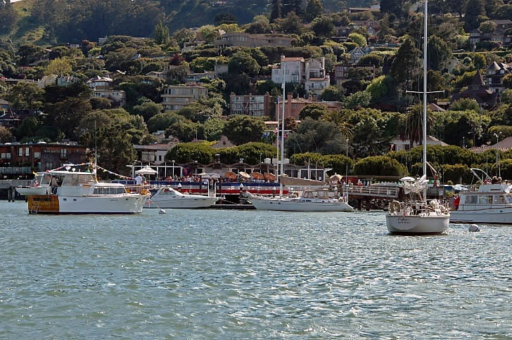 Opening Day at the Sausalito Yacht Club