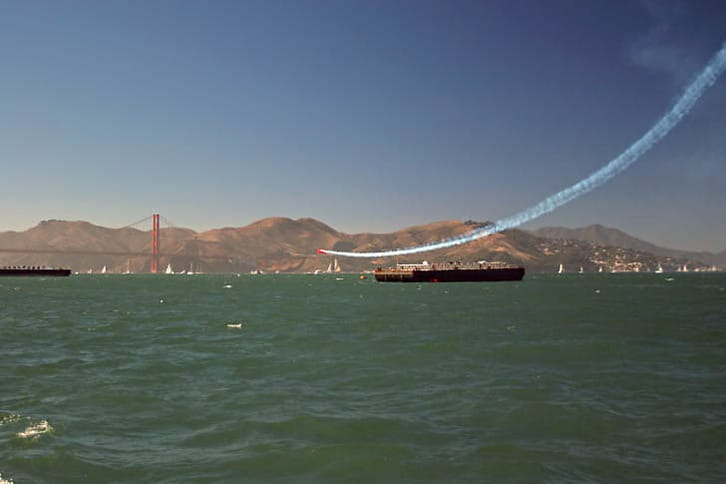 Oracle Biplane Smoke