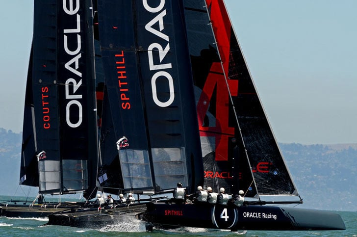 Oracle Racing AC45s