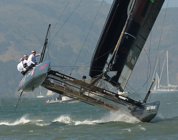 Oracle Team USA Coming at You