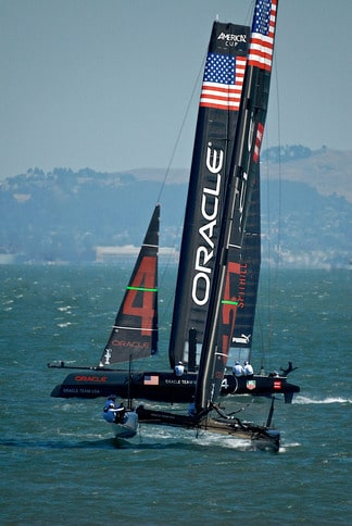 Oracle vs. Oracle in America's Cup SF Bay