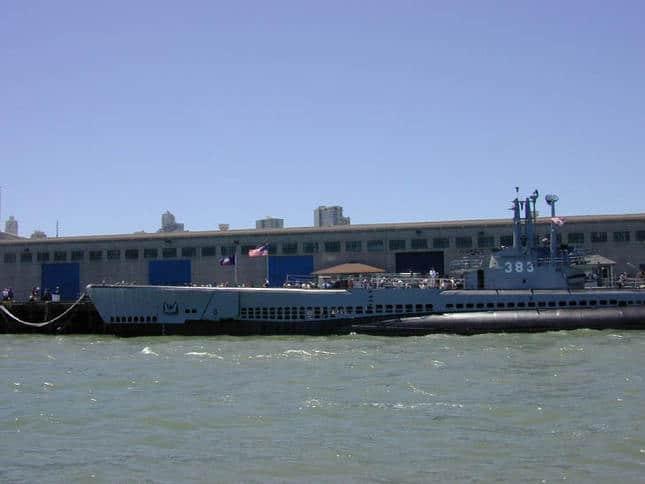 Pampanito Docked