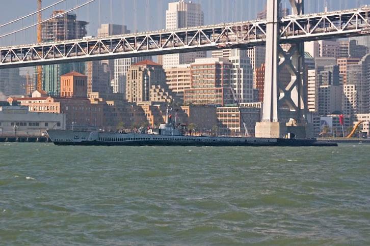 Pampanito and the Bay Bridge