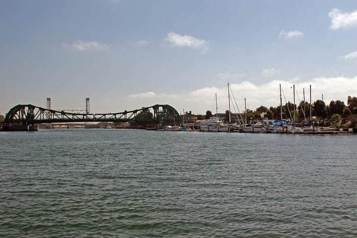 Park Street Bridge over Oakland Estuary