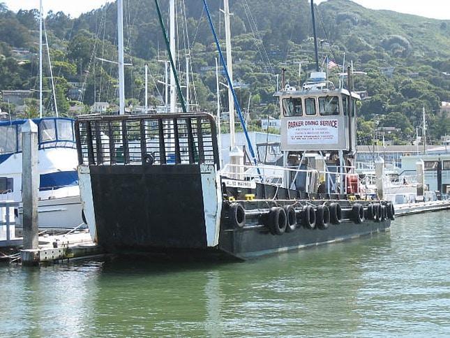 Parker Diving Service's Vessel