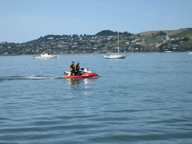 Personal Watercraft In Richardson Bay
