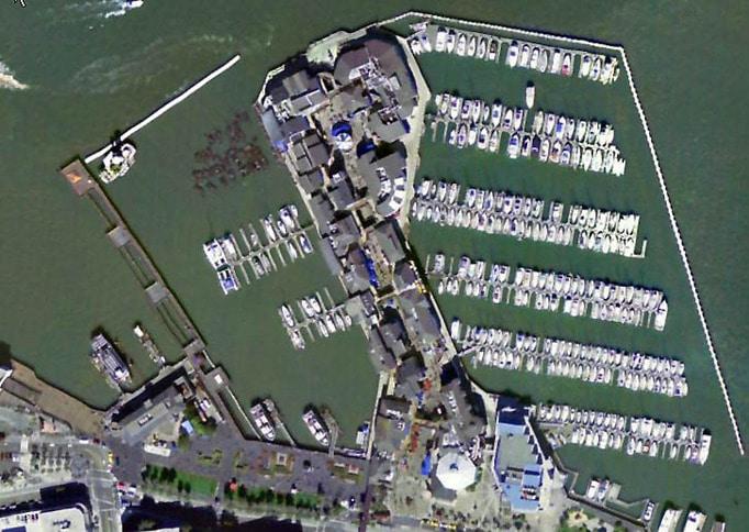 Pier 39 Aerial