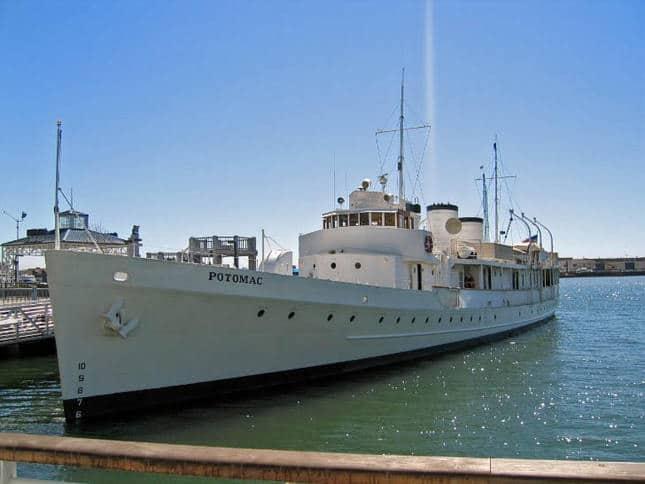 Potomac Classic Motoryacht Docked