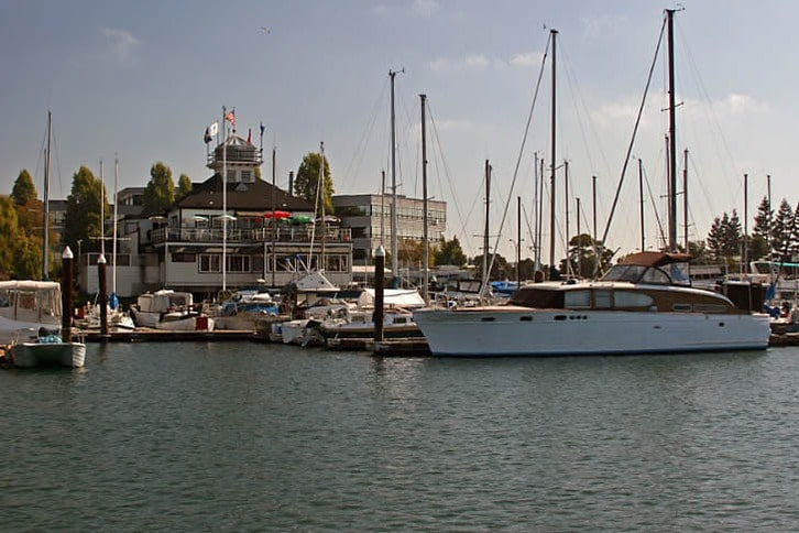 Quinn's Lighthouse and Embarcadero Cove Marina