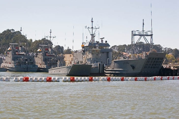 Remaining Navy Ships at Former Mare Island Naval Station