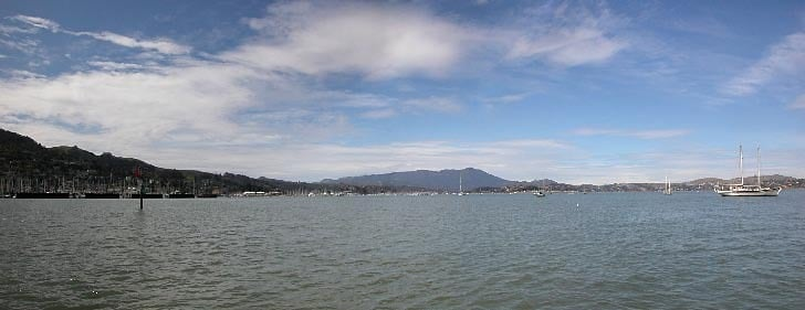 Richardson Bay and Mt. Tamalpais