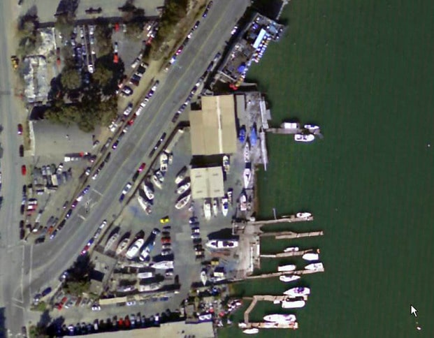 SF Boatworks and The Ramp Aerial
