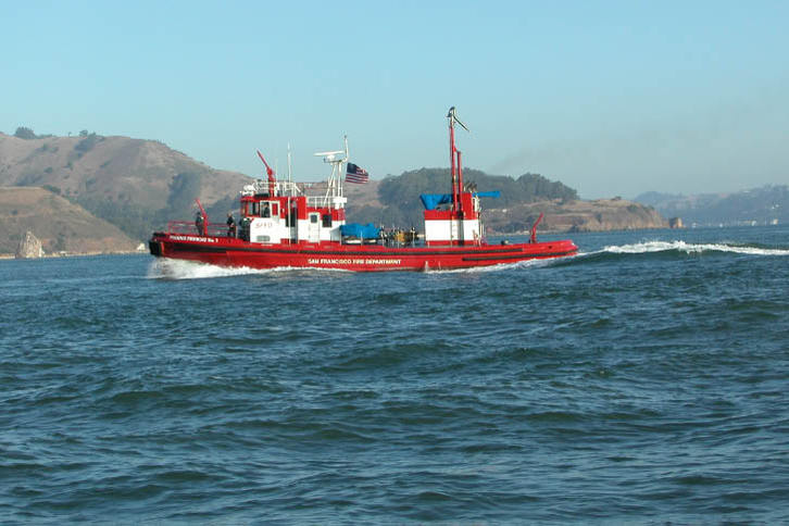 San Francisco Fire Department Boat