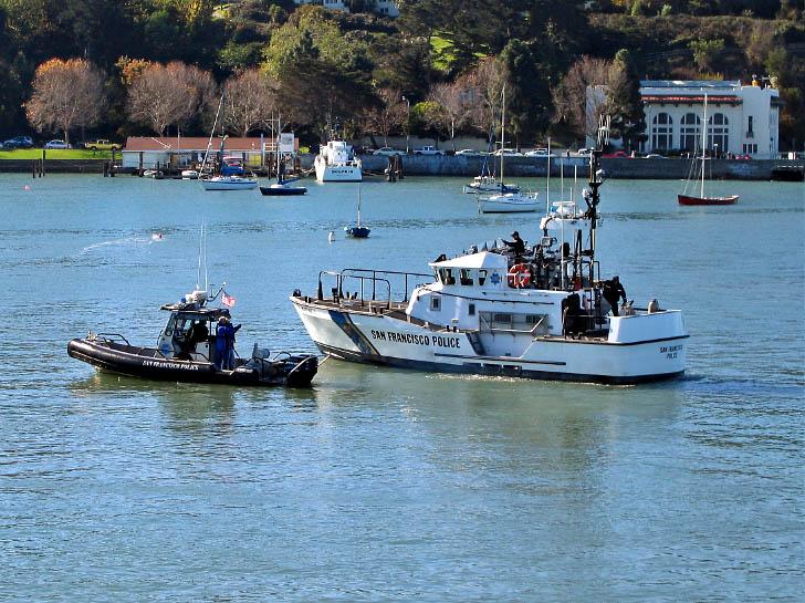 San Francisco Police Boats