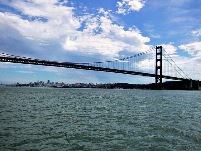 San Francisco Through the Gate