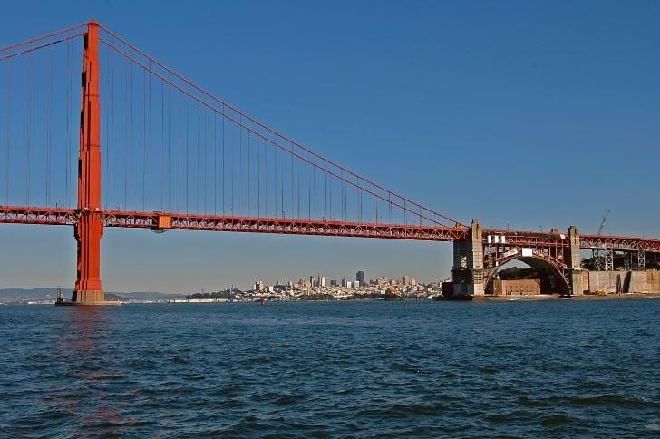 San Francisco Viewed Through the Gate