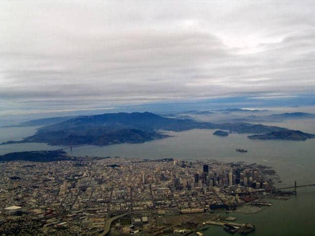 San Francisco and the Tiburon Peninsula