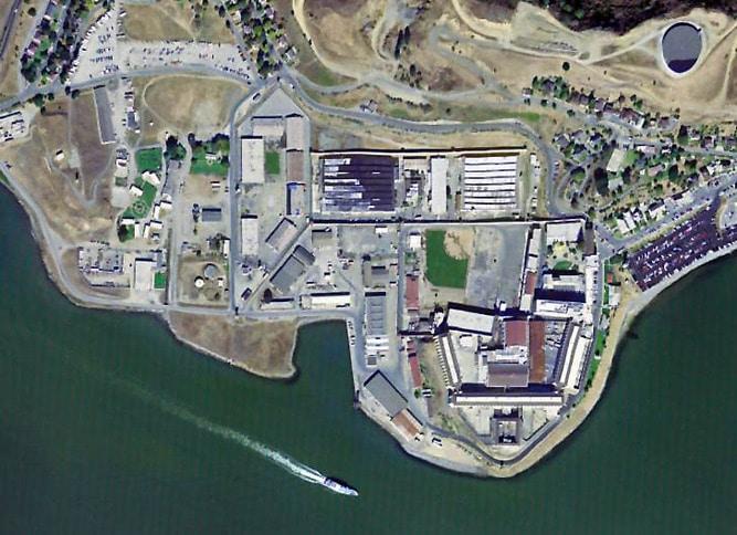 San Quentin Aerial