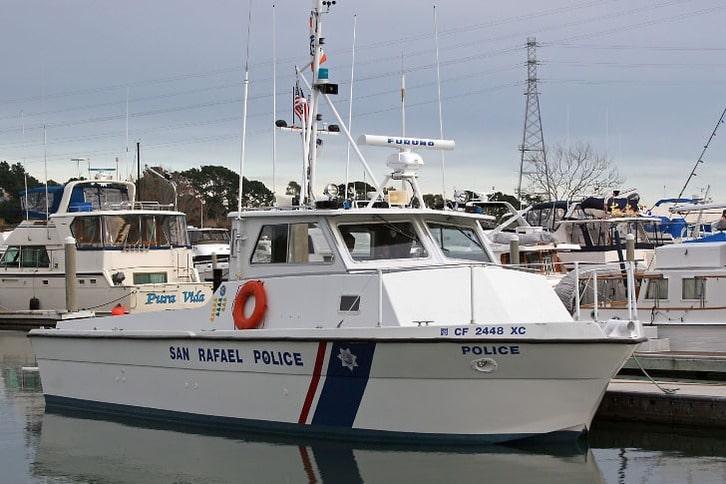 San Rafael Police Boat